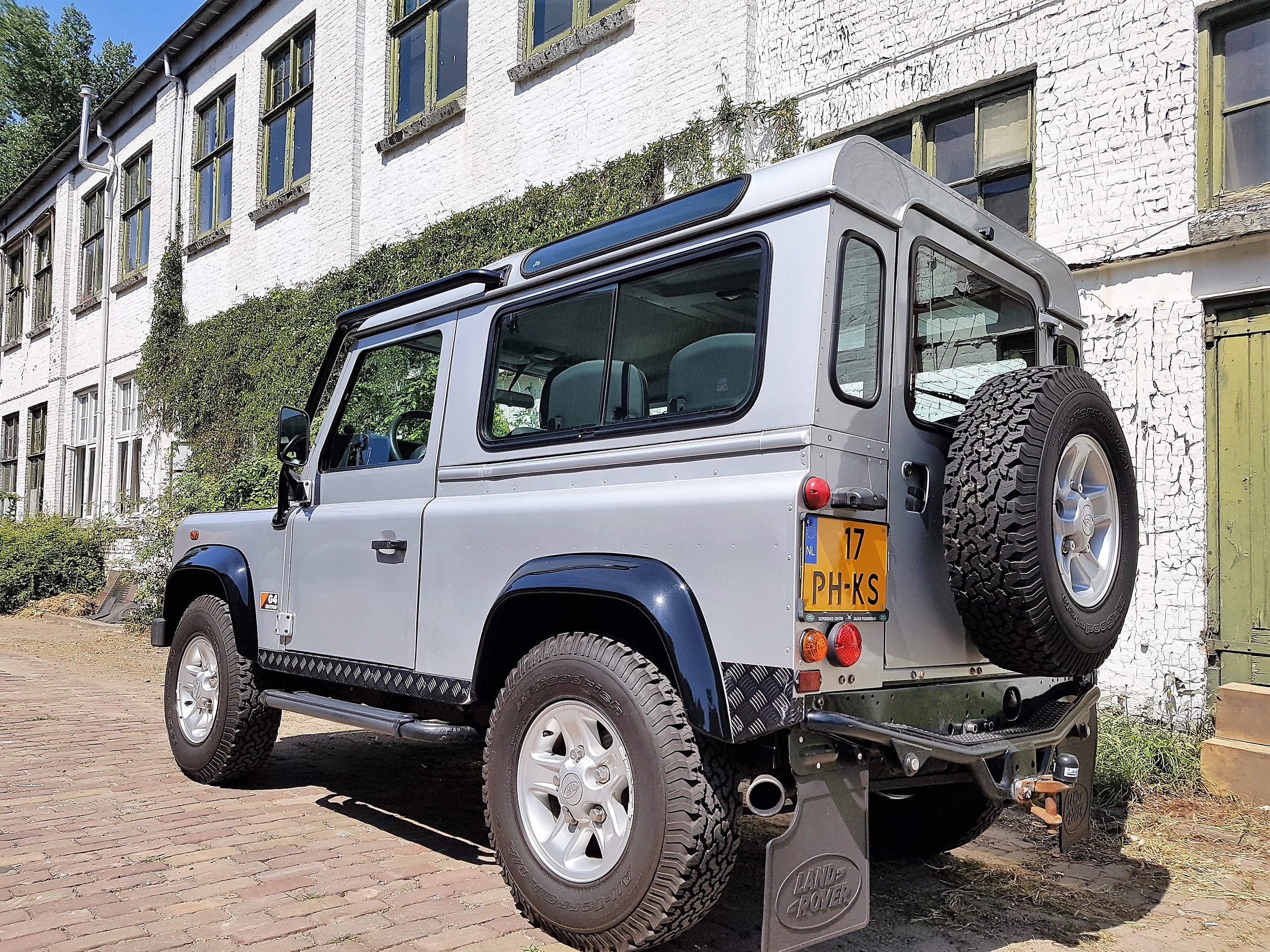 2005 Land Rover Defender 90 G4 – Olivers Classics