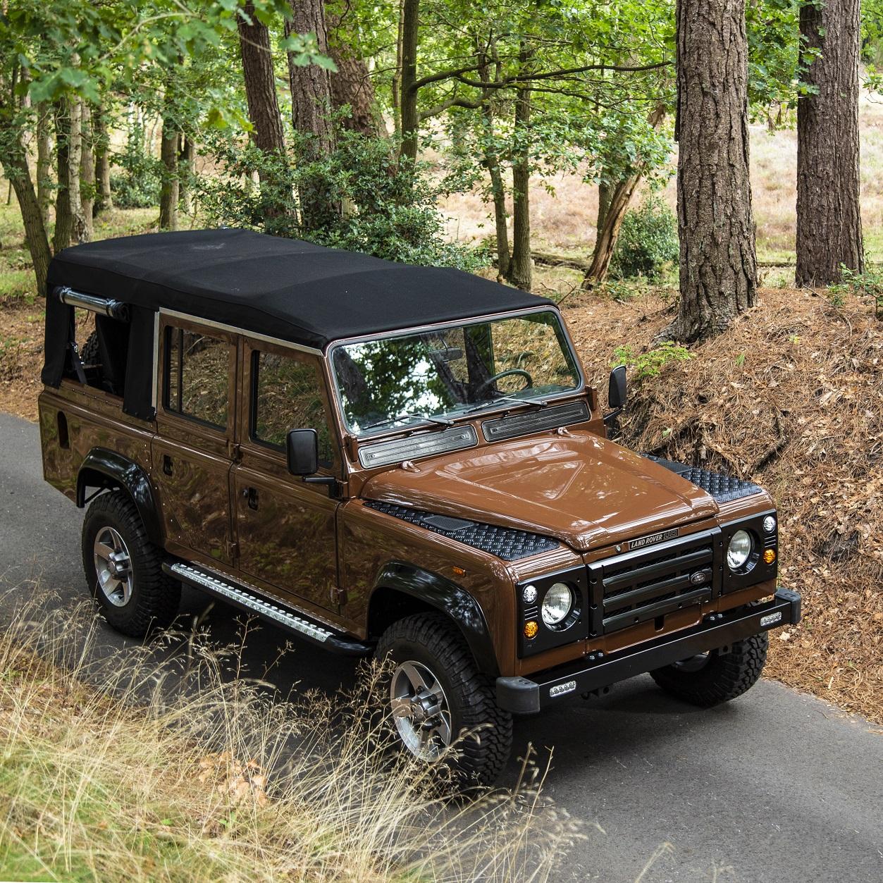 russet-brown-soft-top-land-rover-defender-www.oliversclassics.com
