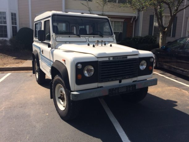 white defender 90 for sale