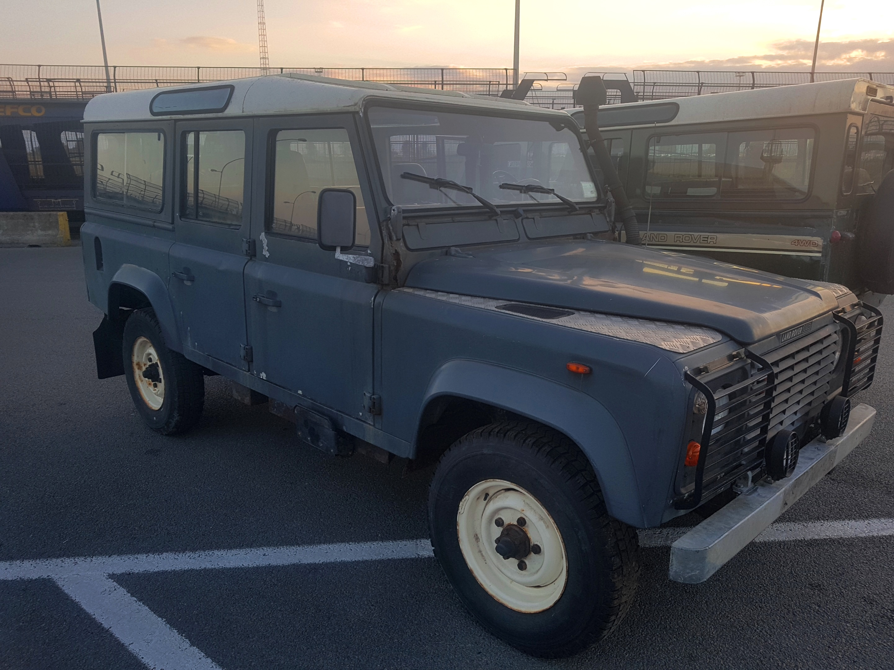 north defender thirsk for seats used heritage diesel wagon four land wheel rover p station yorkshire drive sale