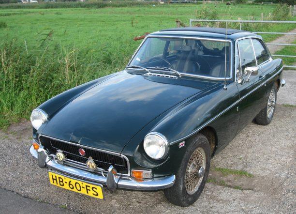 MGb GT Olivers Classics