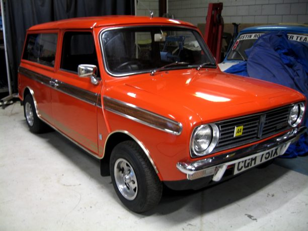 Mini Clubman Estate 1971 Olivers Classics
