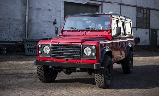 Portofino Red Land Rover D110