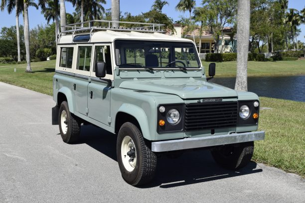 low mileage land rover defender