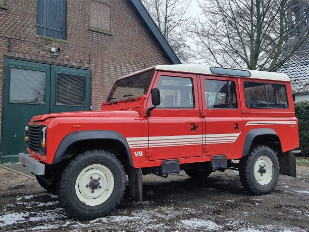 1986 Land Rover Defender station wagon 110 – Olivers Classics