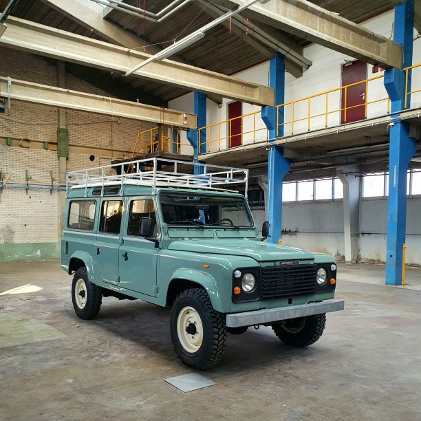 Land Rover V8 custom build V8 Classic Look